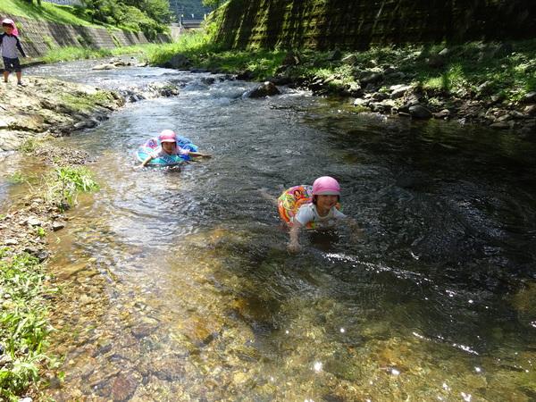 8月川遊び
